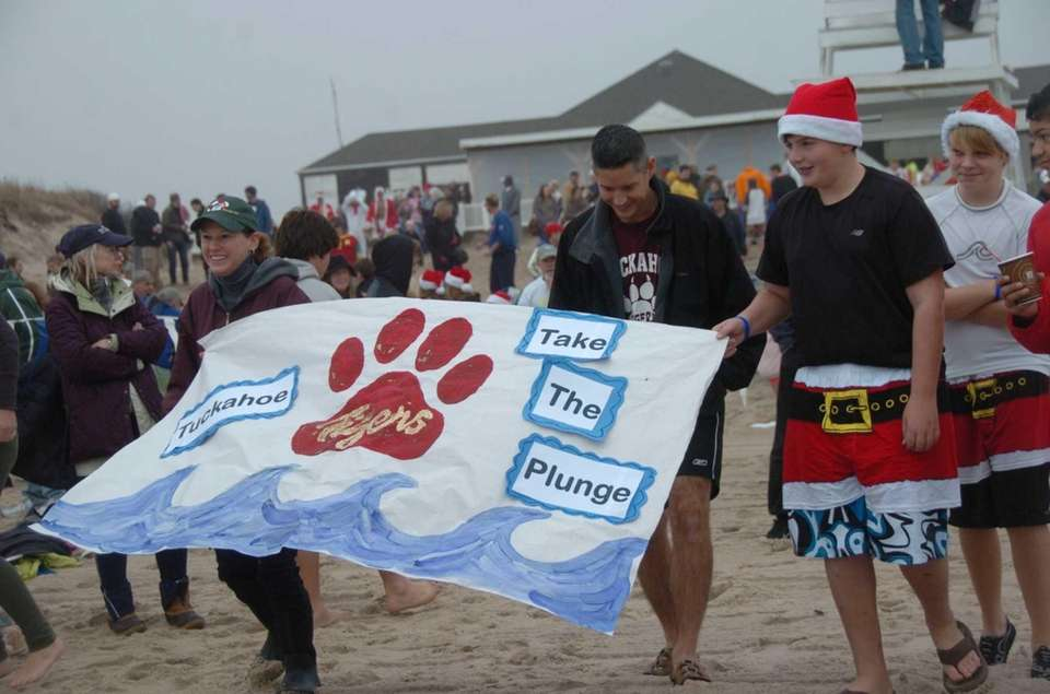 Hundreds participate in the 9th annual Polar Bear