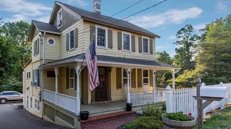 A Victorian house in Stony Brook is on