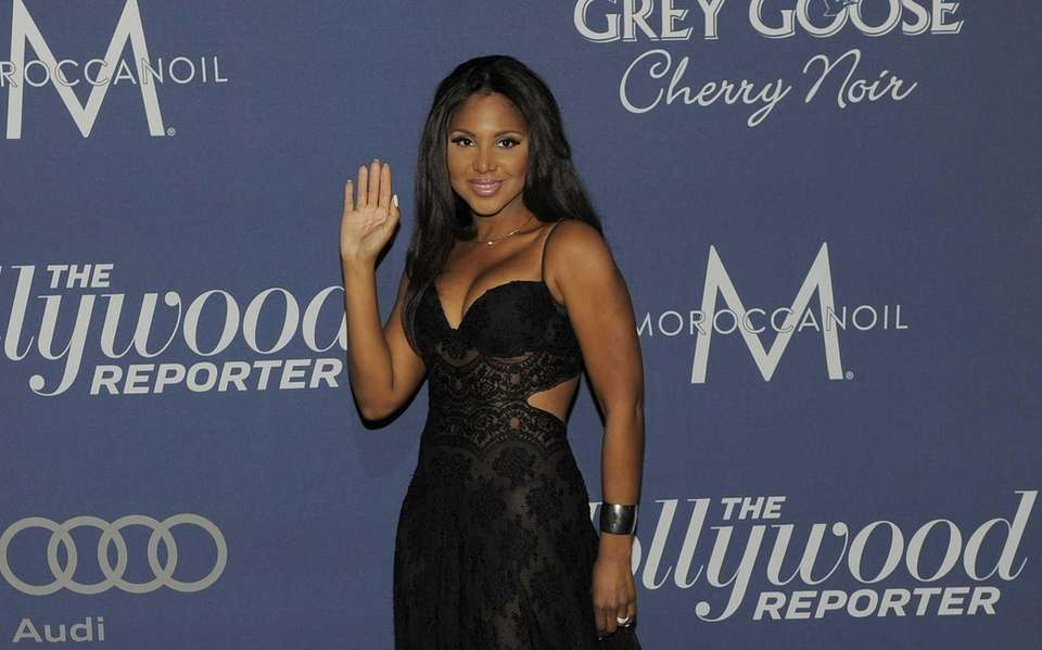 Singer Toni Braxton arrives at The Hollywood Reporter
