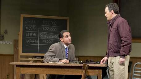 Bobby Cannavale, left, and Jeremy Shamos in a
