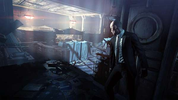 "A scene from ""Hitman: Absolution."""