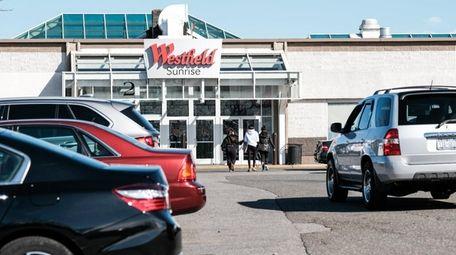 Westfield Sunrise Mall in Massapequa on Saturday.
