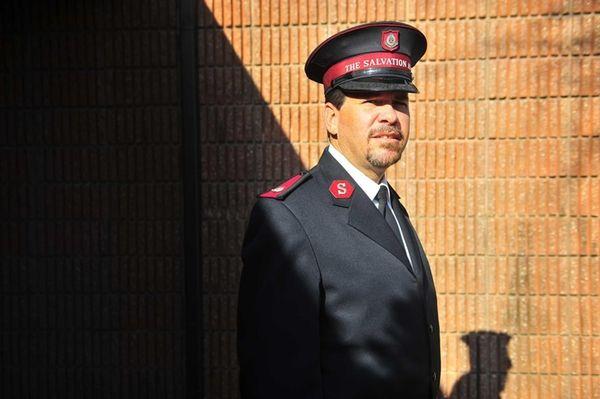 Maj. Jose Guzman, head of the Salvation Army's