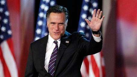 Then-Republican presidential candidate and former Massachusetts Gov. Mitt
