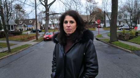 Michele Cerro of Mineola is pictured on Fairfield