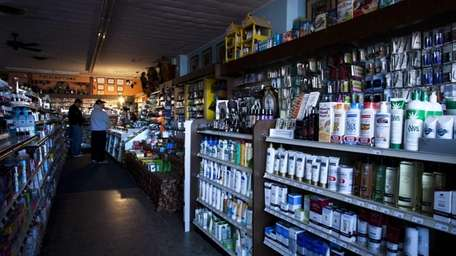 Spage's Pharmacy in St. James carried on after