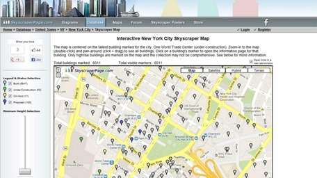 Skyscraperpage.com is a resource for skyscraper and urban