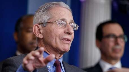 Dr. Anthony Fauci, the director of the National