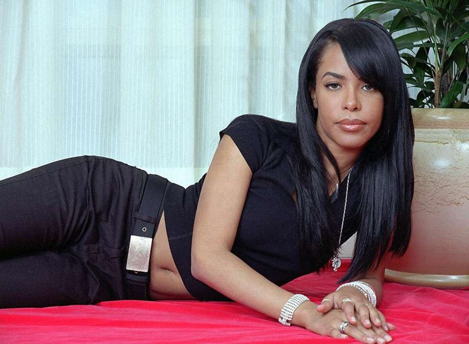 Aug. 25, 2001: Actress and R&B singer Aaliyah