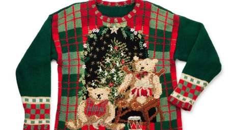 Sport your worst ugly holiday sweater for the