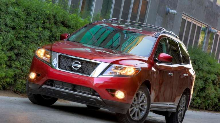 The 2013 Pathfinder showcases what is nothing less