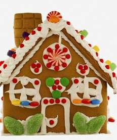 Learn how to decorate gingerbread houses for the