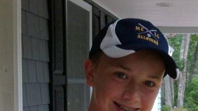 Bryce Grathwohl, an 11-year-old from the Mattituck-Cutchogue school
