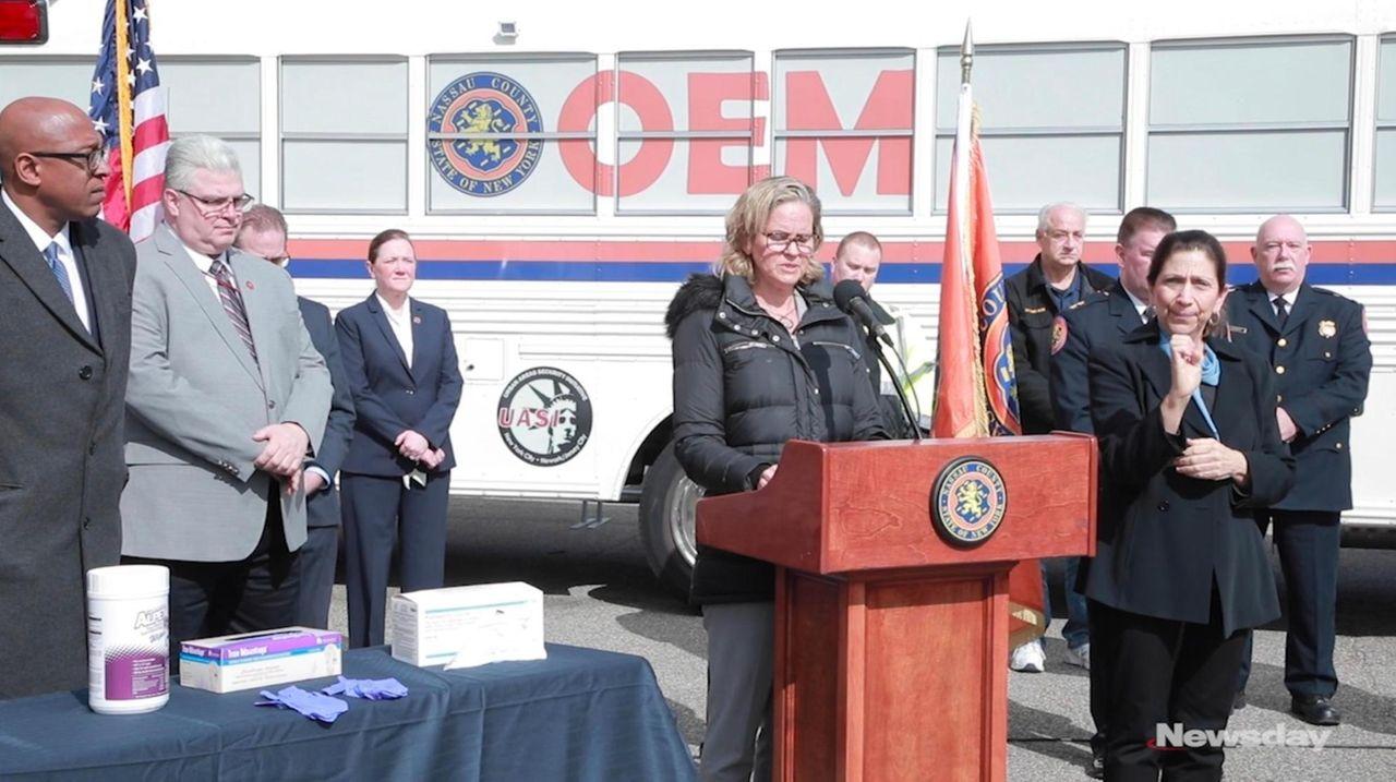 On Monday, Nassau County Executive Laura Curran announced