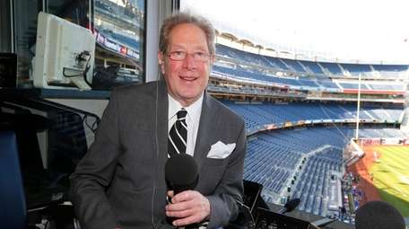 Yankees broadcaster John Sterling is home waiting for