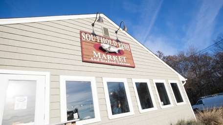 Last week the Southold Fish Market, seen here