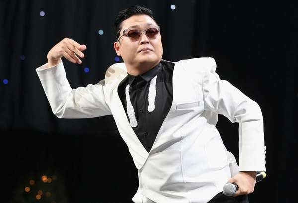 Singer Psy performs onstage during KIIS FM's 2012