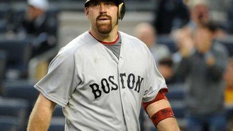 Boston Red Sox third baseman Kevin Youkilis (20)