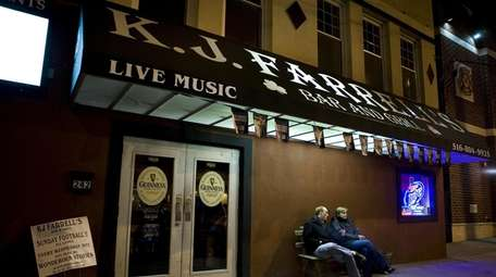 K.J. Farrell's Bar & Grill in Bellmore and