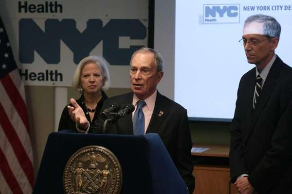 Mayor Bloomberg Announces Improvements in New York City