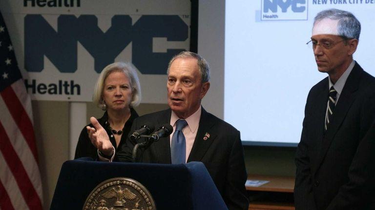 Mayor Bloomberg Announces Improvements in New York City