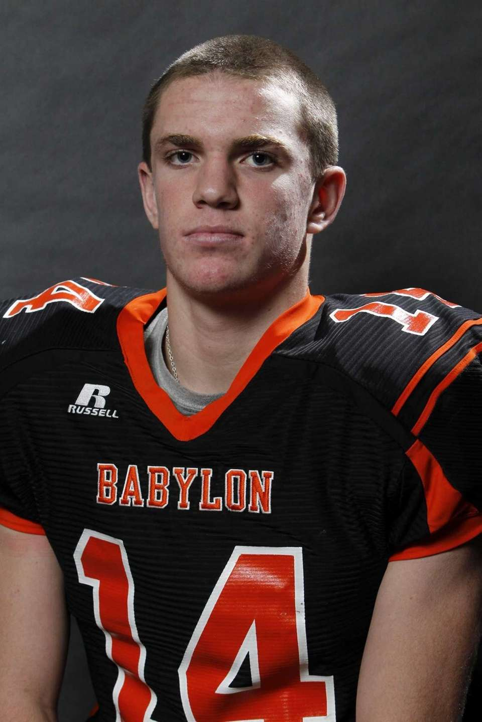 JAKE CARLOCK Babylon, DB, 6-2, 200, Junior One