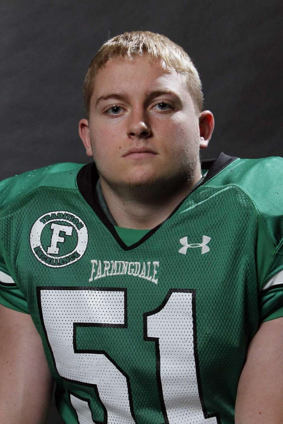 RYAN FEINER Farmingdale, MLB, 5-10, 210, Senior Made