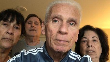 From left, Janis Brock, Stanley Dachinger, Jackie Brock