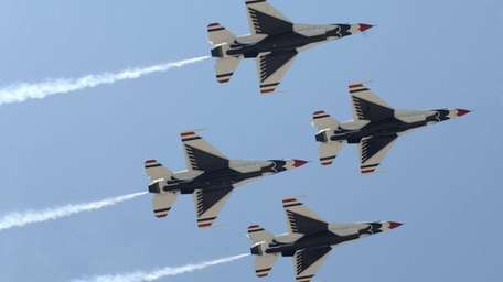 The United States Air Force Thunderbirds during the