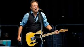 Bruce Springsteen and The E Street Band perform