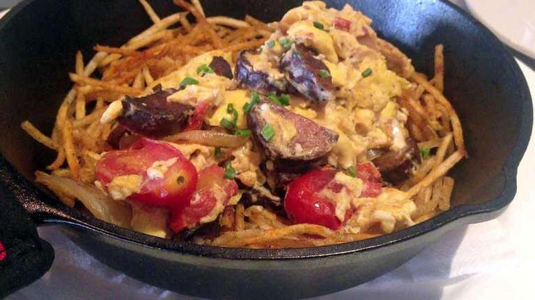 This is the chorizo skillet at Toast &