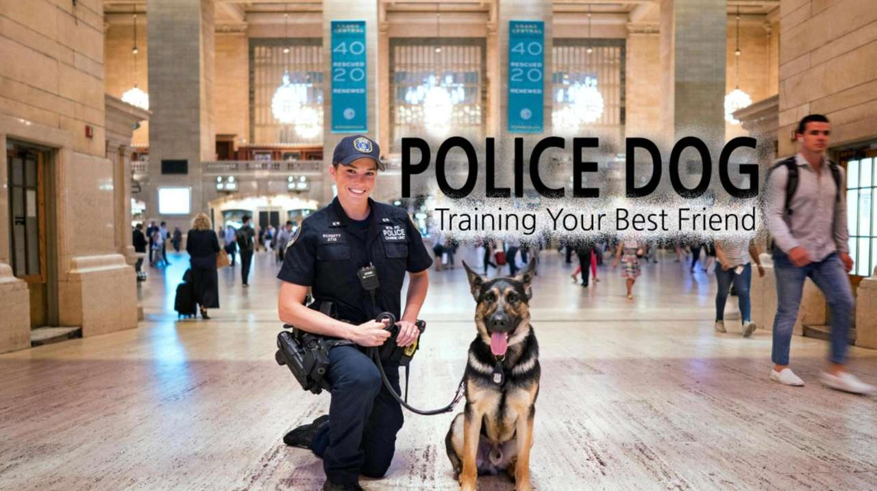 There's a special relationship between an MTA canine