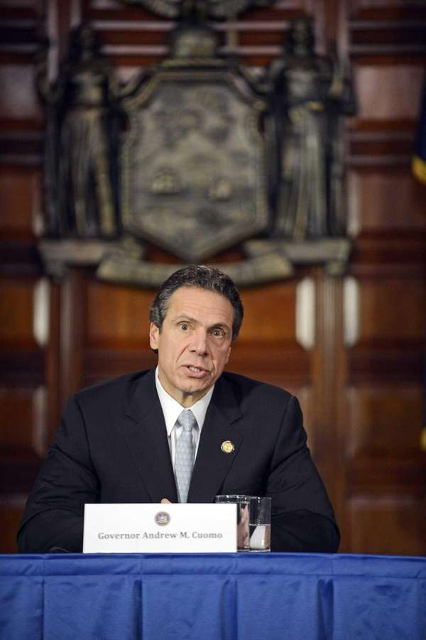 Governor Andrew M. Cuomo holds first cabinet meeting