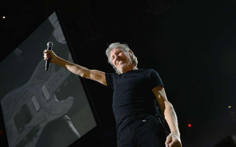 Roger Waters performs at