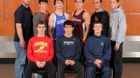 FRONT ROW, FROM LEFT: Thomas Slattery - Chaminade,