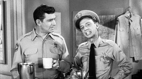 "Andy Griiffith and Don Knotts on ""The Andy"