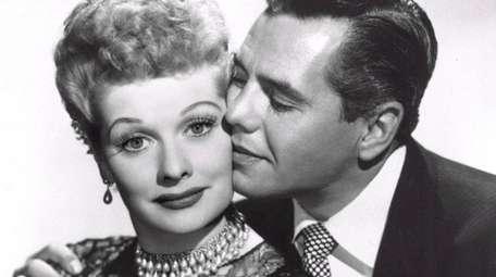 I Lucille Ball and her husband, musician-actor Desi