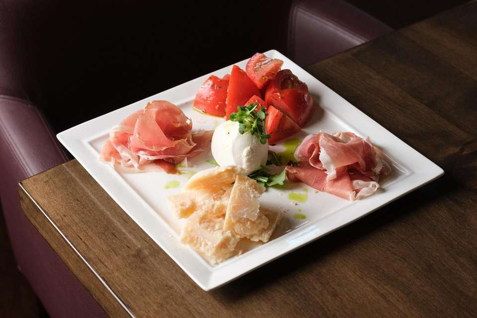 The M Bar platter presents definitive charcuterie from