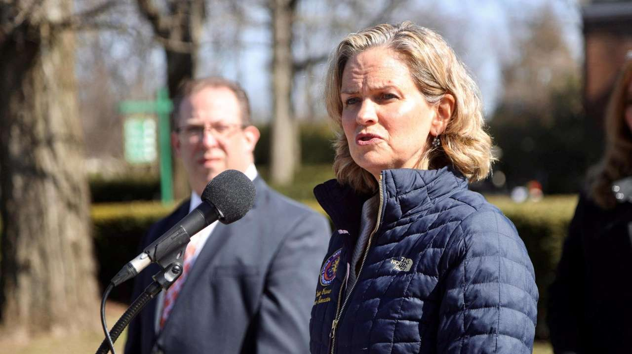 Nassau County Executive Laura Curran discussed the rising