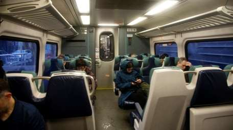 Many LIRR commuters used their monthly March tickets