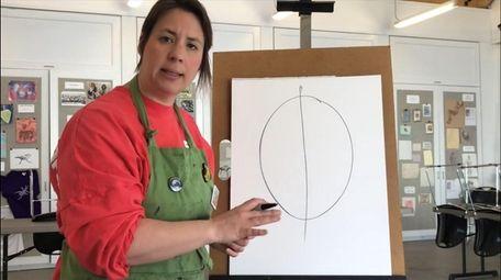 Larissa Grass, education director of Gallery North in