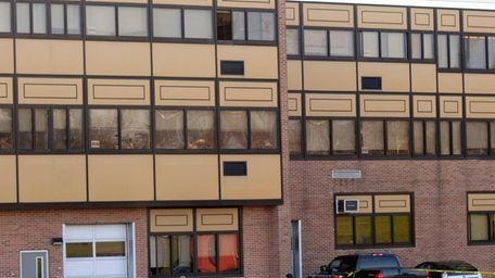 Police at Walt Whitman High School in Huntington