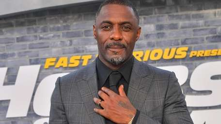Actor Idris Elba attends the premiere of Universal