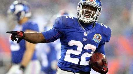 David Wilson #22 of the New York Giants