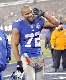 Osi Umenyiora wants to hear it from the