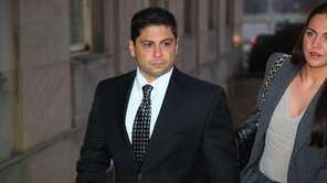 Former Nassau Police Officer Michael Tedesco surrenders to