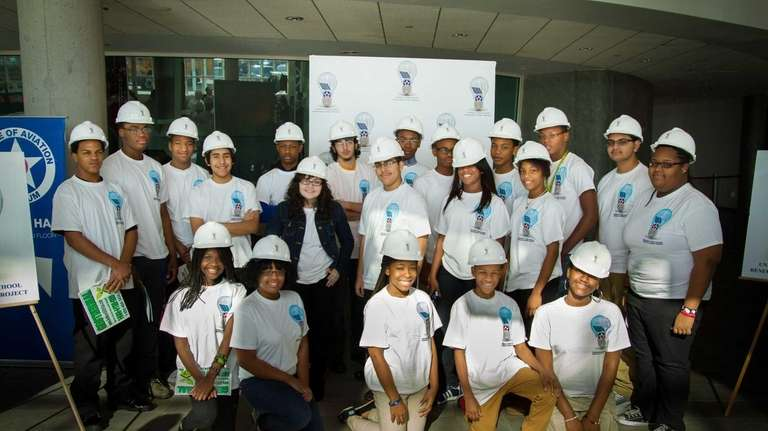 Uniondale High School students are helping create a