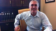 Peter Imbert, 53, has been mayor of the