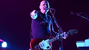 Billy Corgan of The Smashing Pumpkins performs at