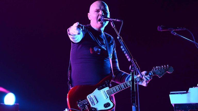 Billy Corgan of The Smashing Pumpkins performs at